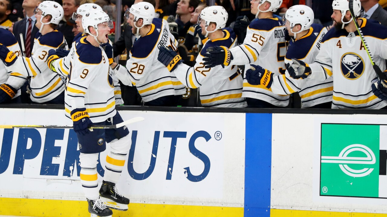 wholesale dealer 9f212 375ec Sabres captain Jack Eichel to host hockey clinic at UMass ...