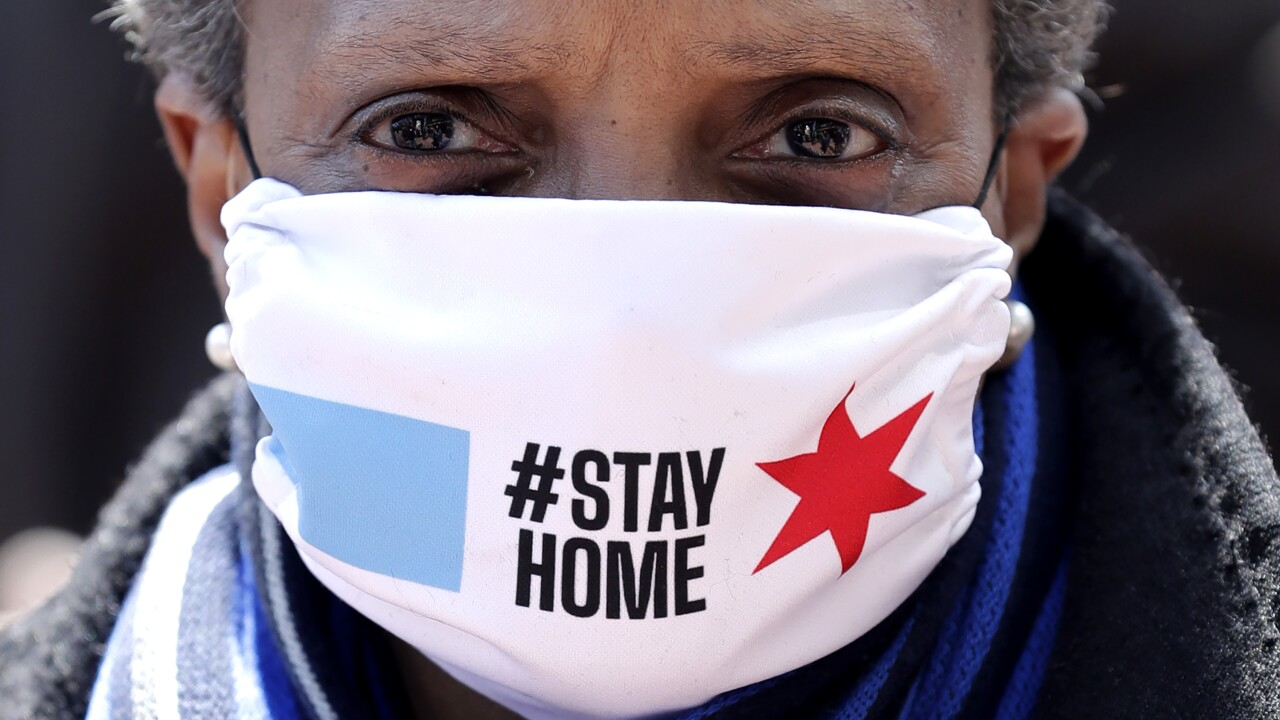 Chicago issues stay-at-home advisory that will take effect Nov. 16