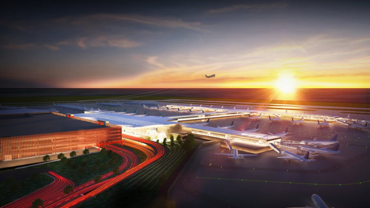 Aerial View of KCI-Edgemoor Terminal