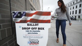 colorado ballot drop off voter voting denver ballot drop box