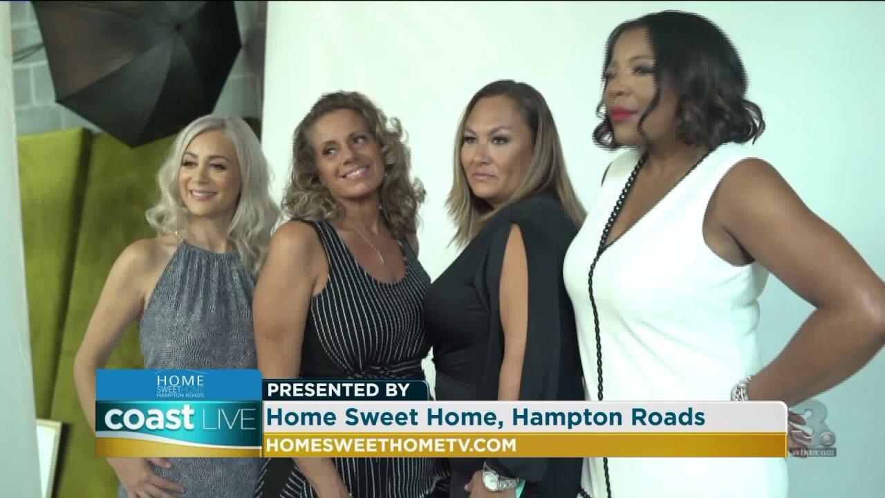 "The stars of a new local reality series ""Home Sweet Home, Hampton Roads"" on CoastLive"