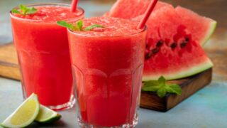 Watermelon Lemonade Slush Is So Easy To Make