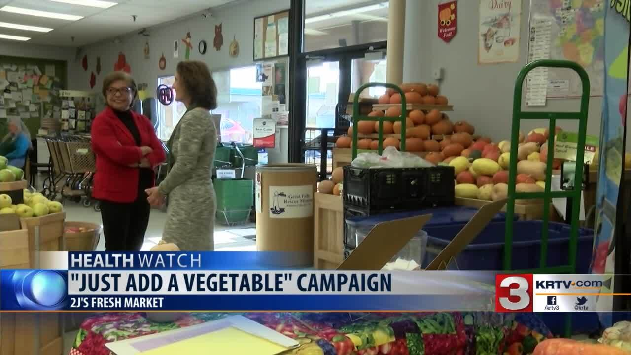 "Get Fit Great Falls wants people to ""Just Add a Vegetable"""