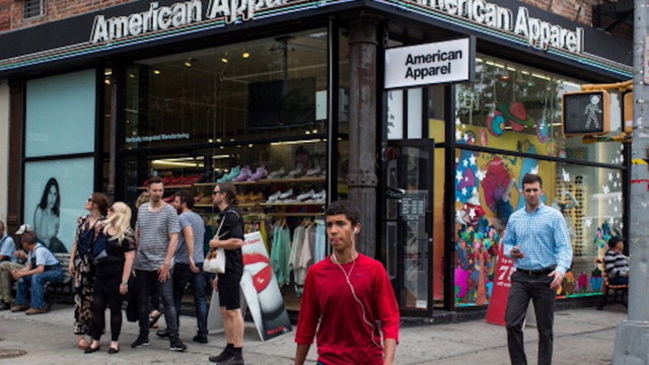 American Apparel stores to close after buyout