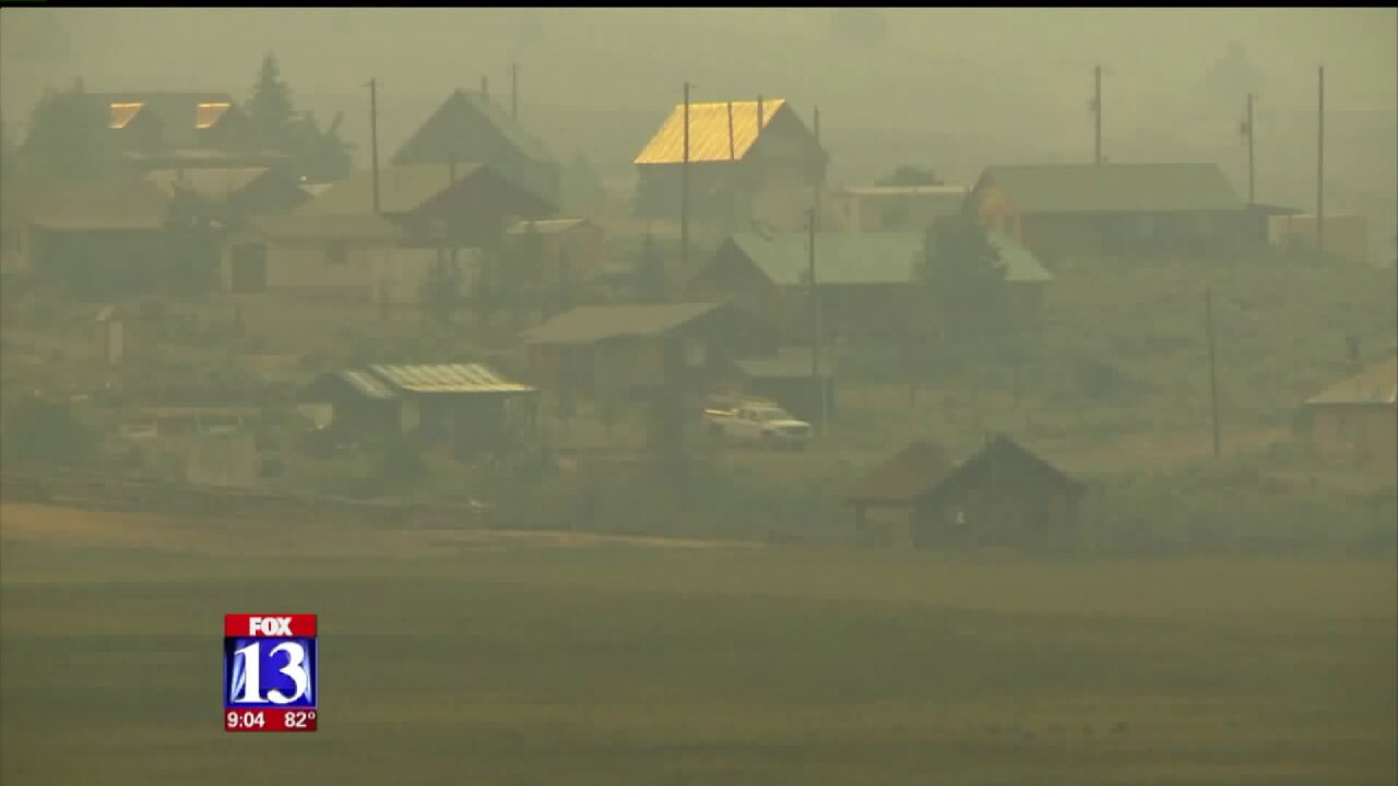 Brian Head Fire grows beyond 40,000 acres; blaze is 8% contained
