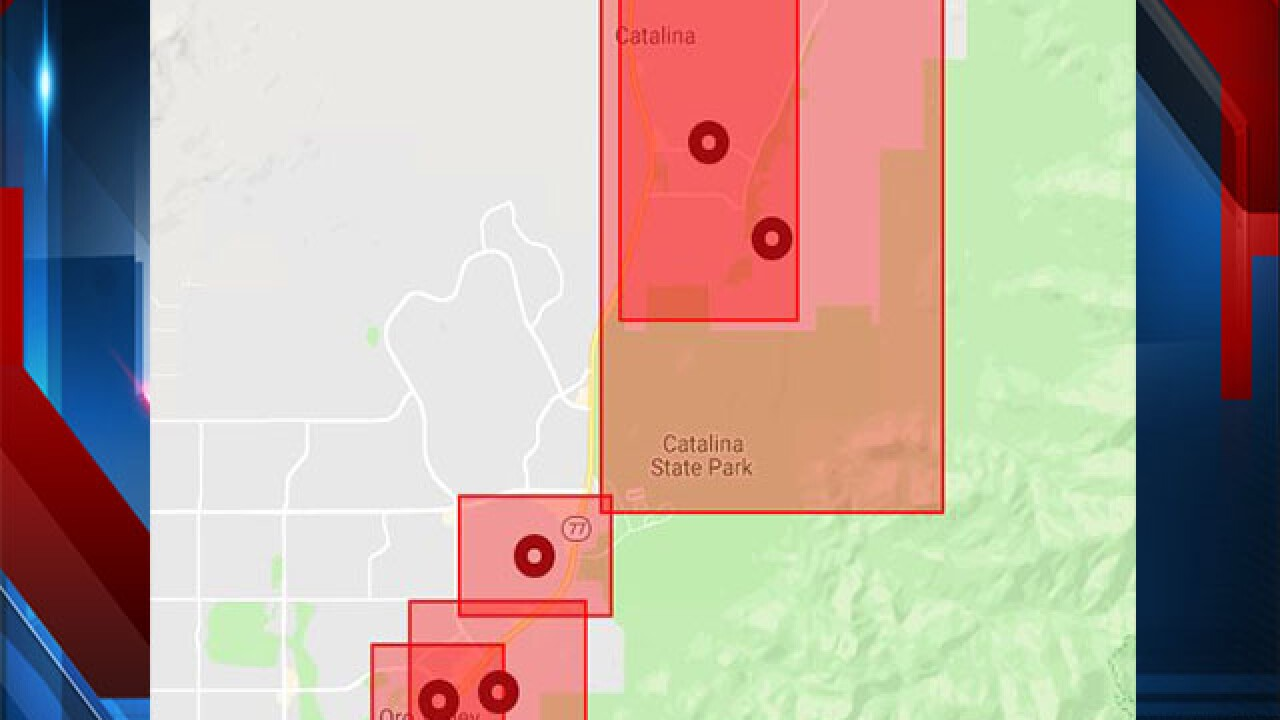 Thousands In Oro Valley And Catalina Experiencing Power Outage