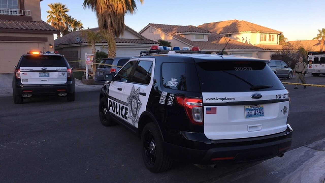 Officers involved in shooting in northwest Vegas