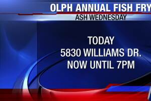Fish fry offered today at Our Lady of Perpetual Help