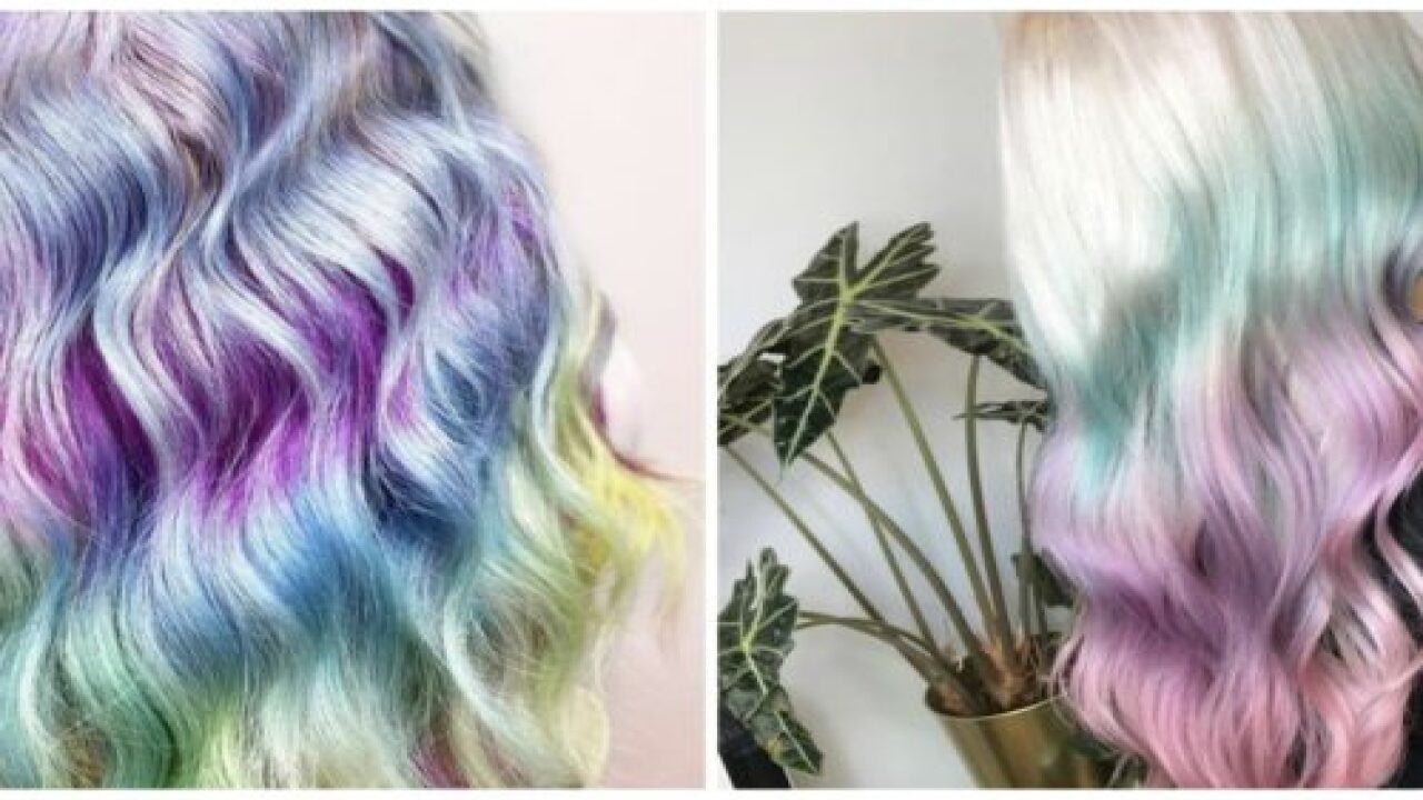 'My Little Pony' Hair Is The Newest Trend In Hair Color