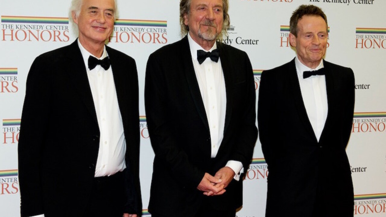 Is a Led Zeppelin reunion in the works?