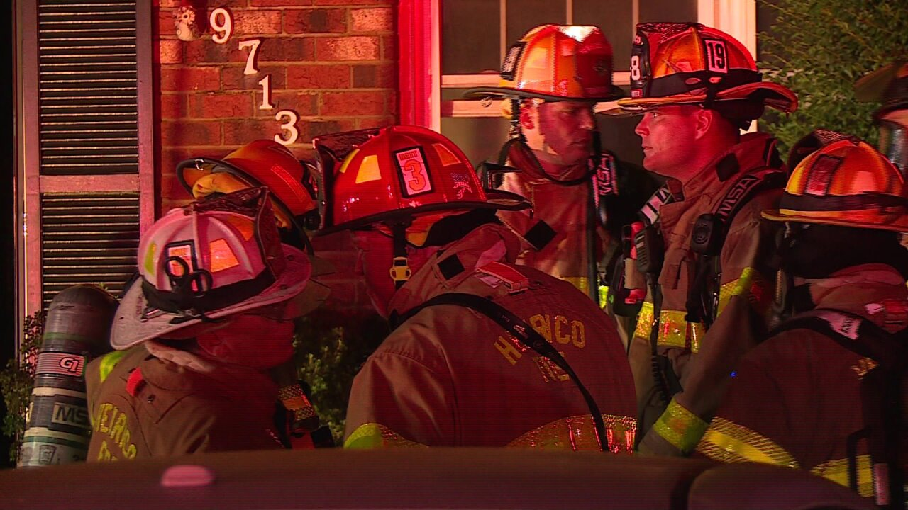 Henrico Firefighters rescue family's dog from burninghome