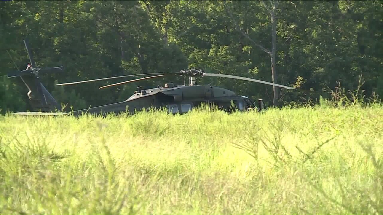 Virginia National Guard helicopter makes emergency landing inChester