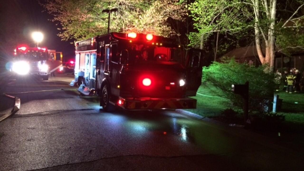 Man dies in overnight house fire near Loveland
