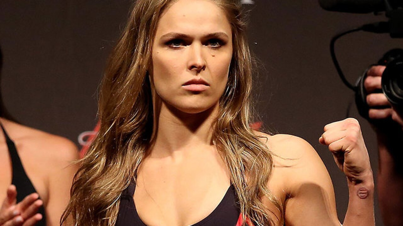 WWE wants UFC star Ronda Rousey to jump from octagon to ring