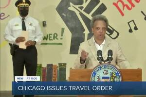 Chicago issues travel order