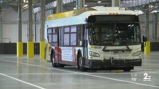 MDOT MTA Kirk Bus Division project is complete