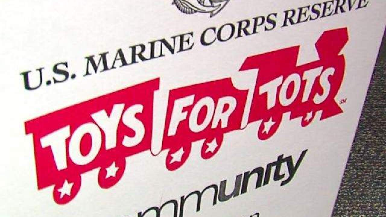 Local veterans hold Toys for Tots donation aboard USS Cod Submarine Memorial on Saturday