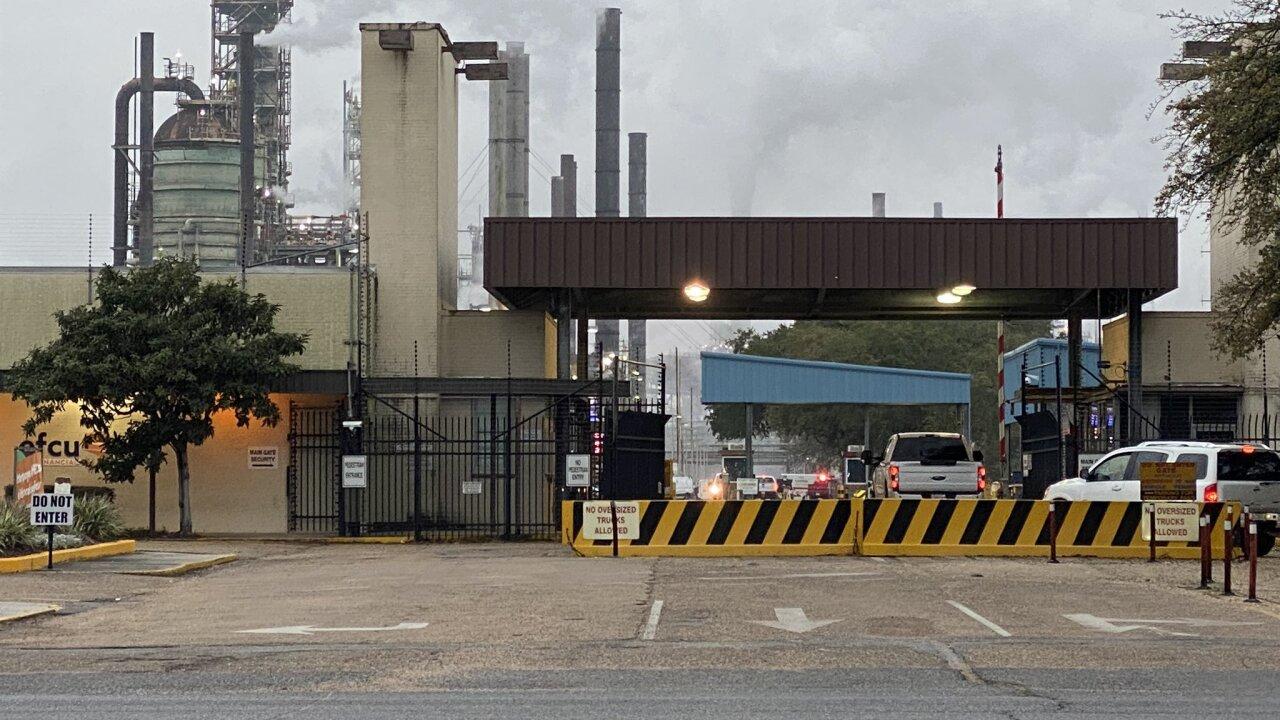 ExxonMobil plant after fire