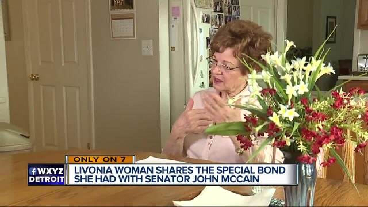 Michigan woman shares letter from John McCain