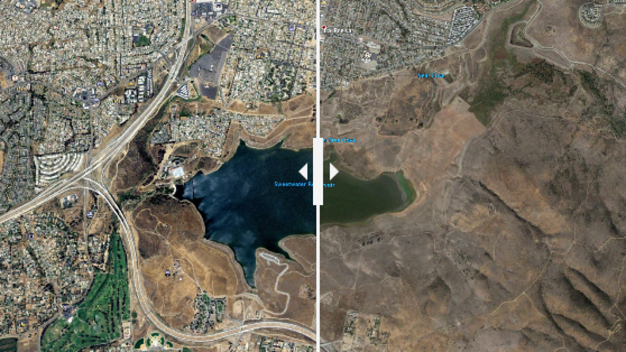 10 year challenge sweetwater reservoir