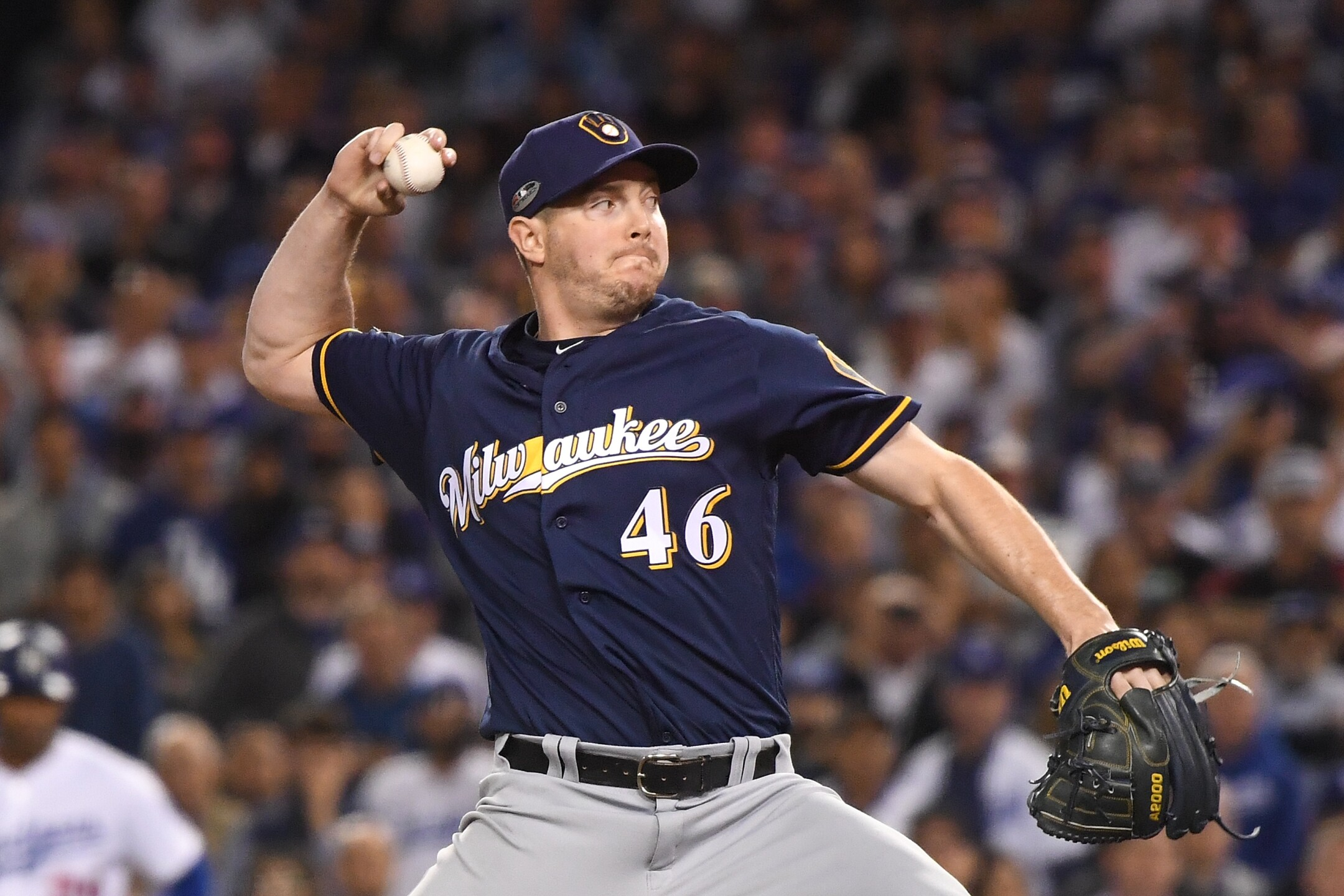 Relief Pitcher Corey Knebel. Currently Injured**