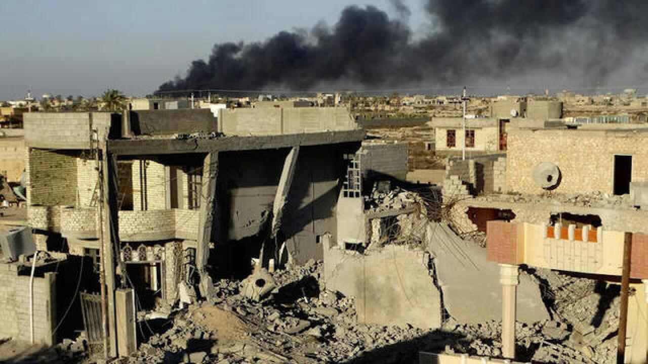 Iraq routed IS from Ramadi at a high cost