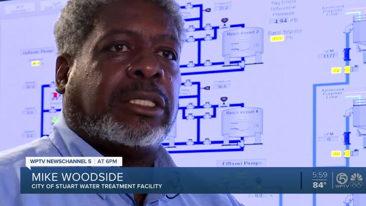 Mike Woodside, Stuart Water Treatment Facility
