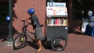 "L&C Library add new mobile library called ""Words on Wheels"""