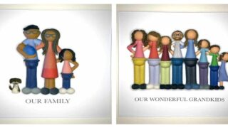 You Can Order A Custom 3D Portrait Of Your Family