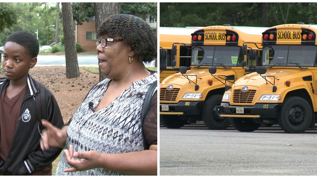 RPS investigating late school bus after grandparent's outrage