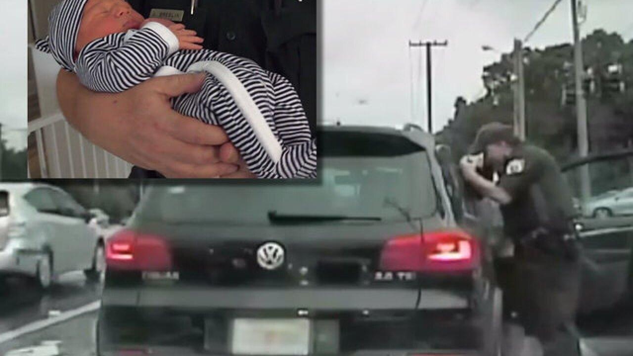 Florida deputy helps deliver baby