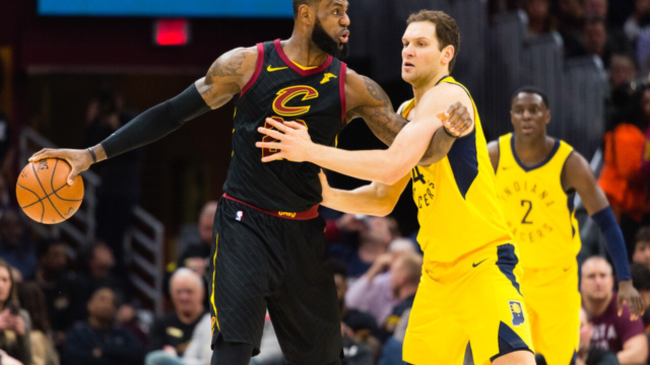 84f488224 Pacers fall to the Cavs 100-97
