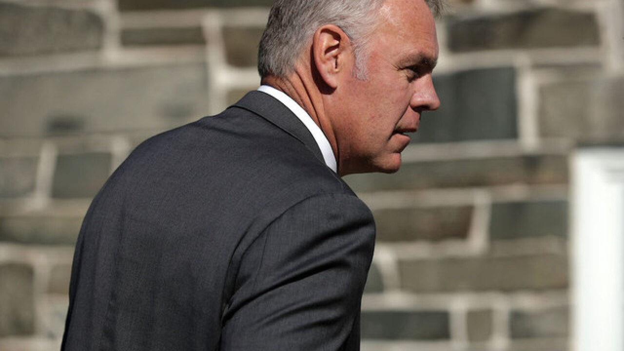Justice Department investigating Interior Secretary Ryan Zinke, sources say