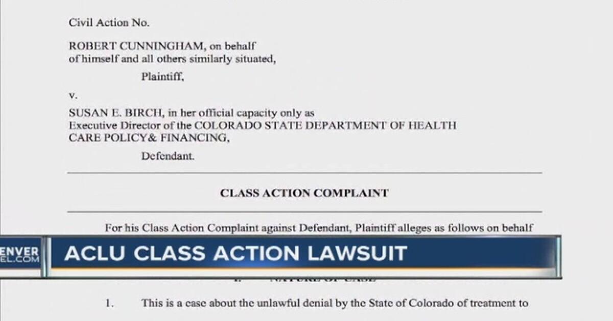 ACLU sues Colorado Medicaid for treatment of Hepatitis C patients