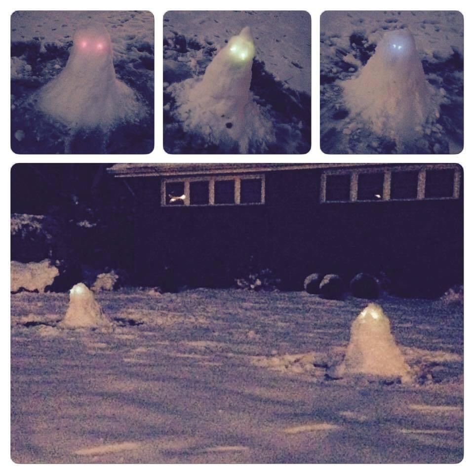 Photos: PHOTOS: Creative snowcreatures