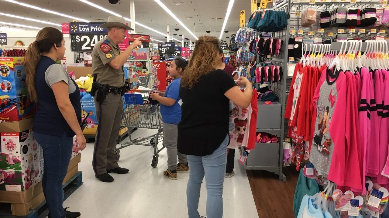 """Shop with a cop"""