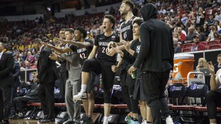Aztecs down Fresno State, 64-52, move onto semifinals of MW tournament