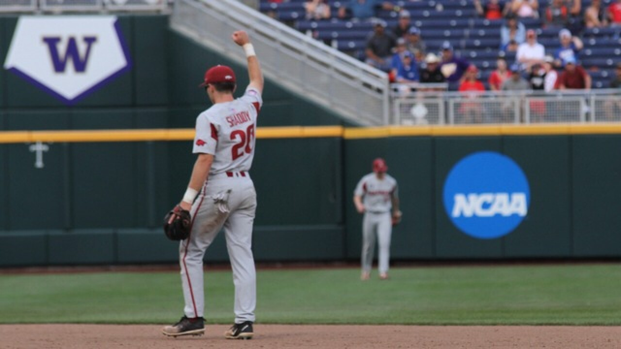 Fletcher Blasts Arkansas Into CWS Semifinals