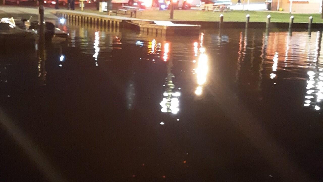 Boaters rescued near HopewellMarina