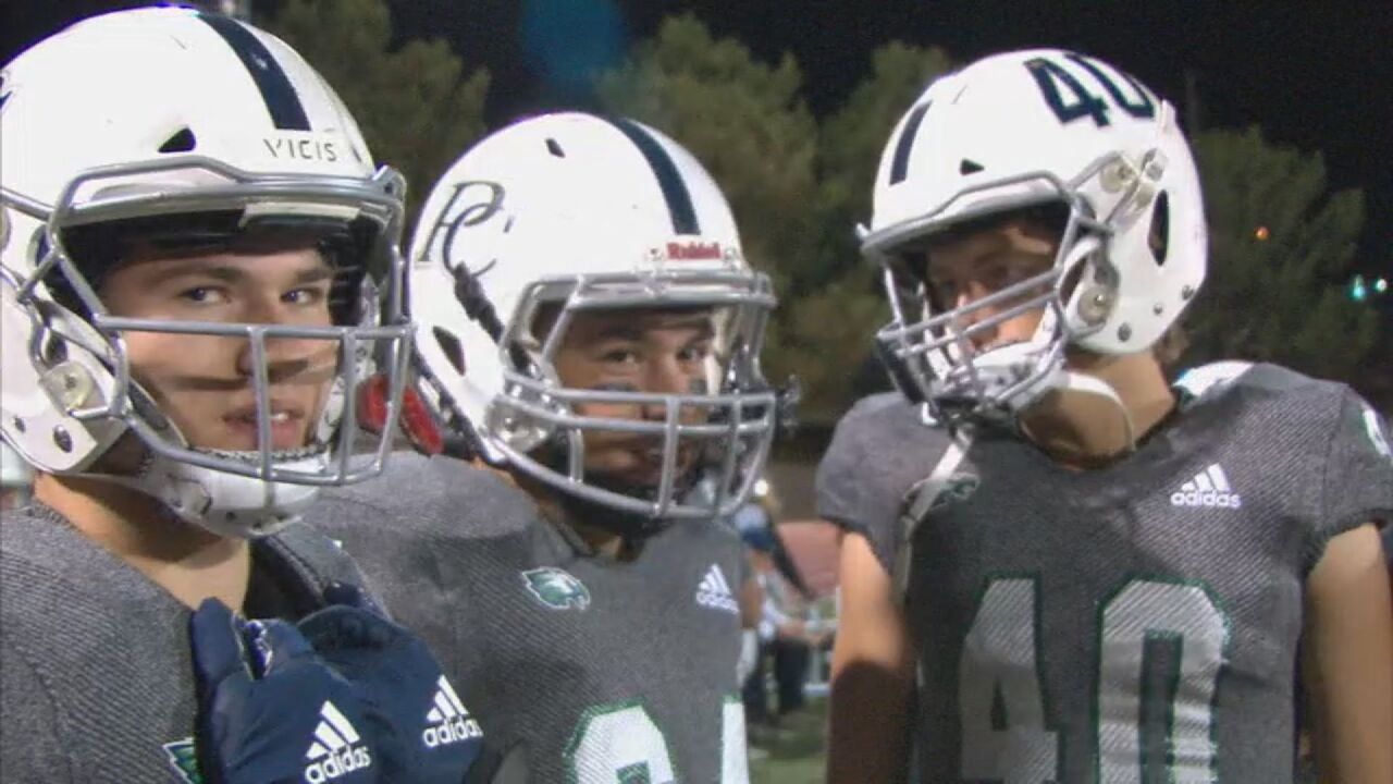 Pine Creek rolls past Mesa Ridge with big first half