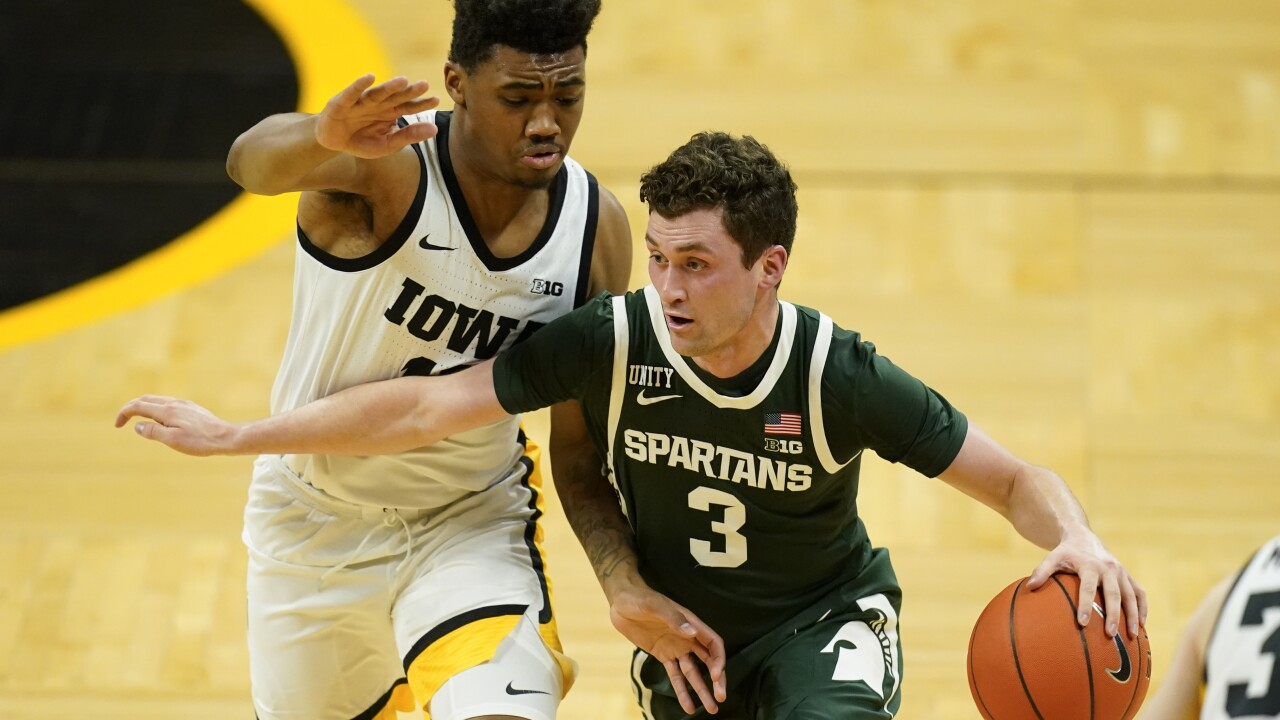 Foster Loyer Michigan St Iowa Basketball