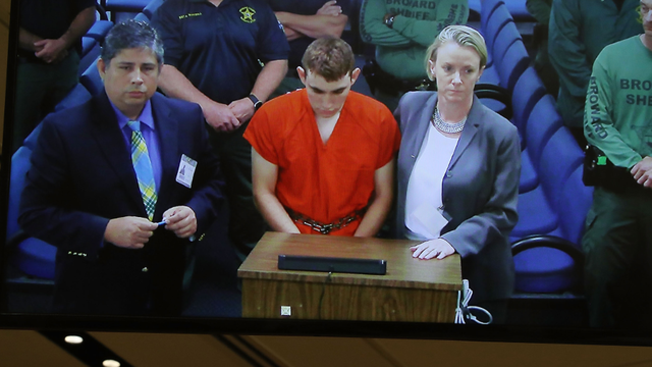 School shooting suspect booked at Broward jail
