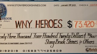 Stony Brook Shines raised more than $73,000 for veterans