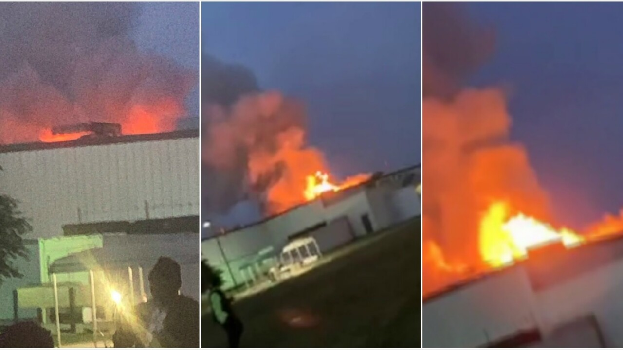 'Situation under control' after explosion inside Colonial Heights meatplant