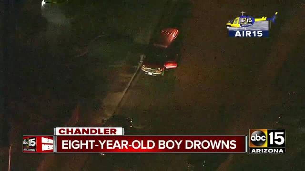 Child pulled from Chandler pool not breathing