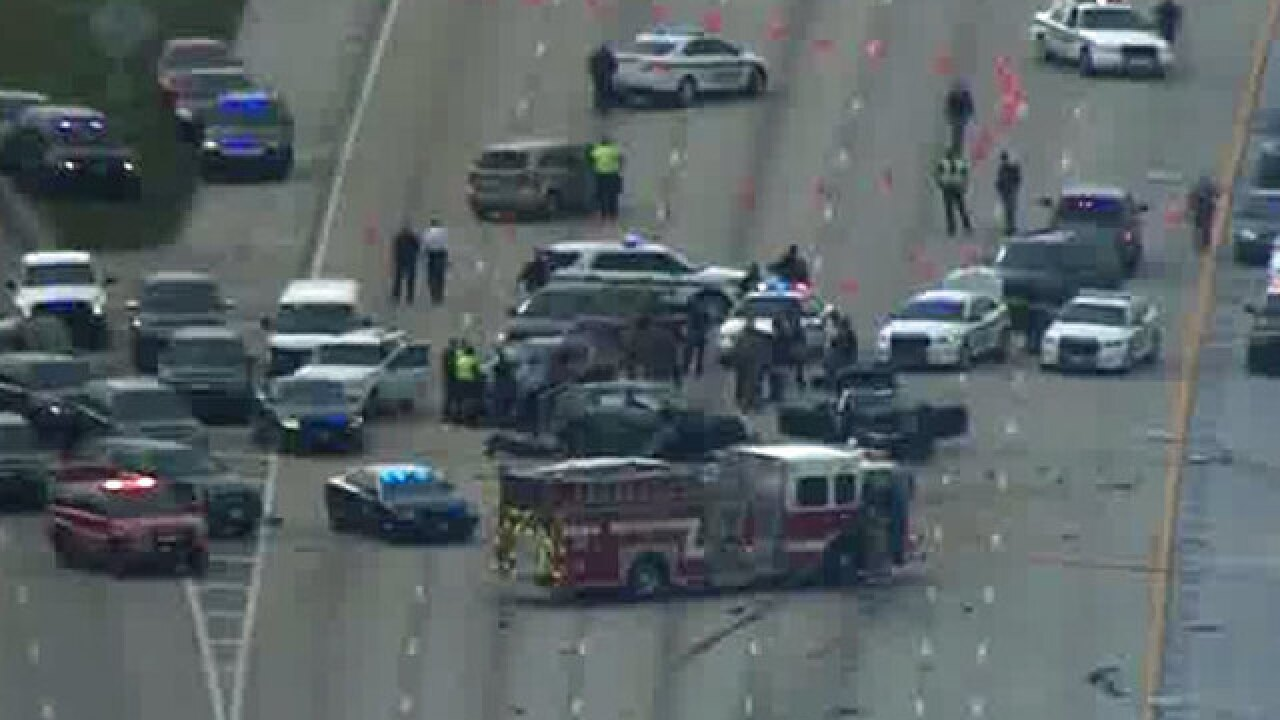 2 dead; deputy-involved shooting shuts down I-95 in Lantana much of Wednesday