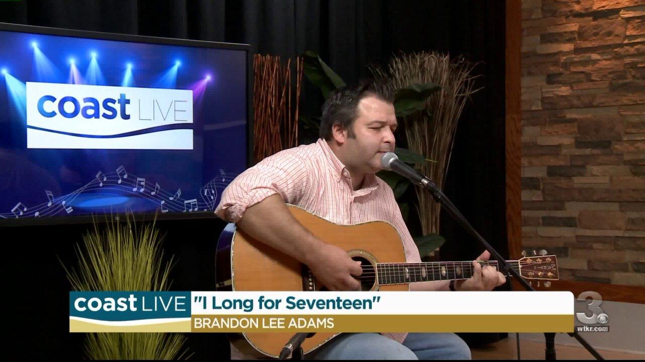 Local Music Spotlight: Brandon Lee Adams on CoastLive