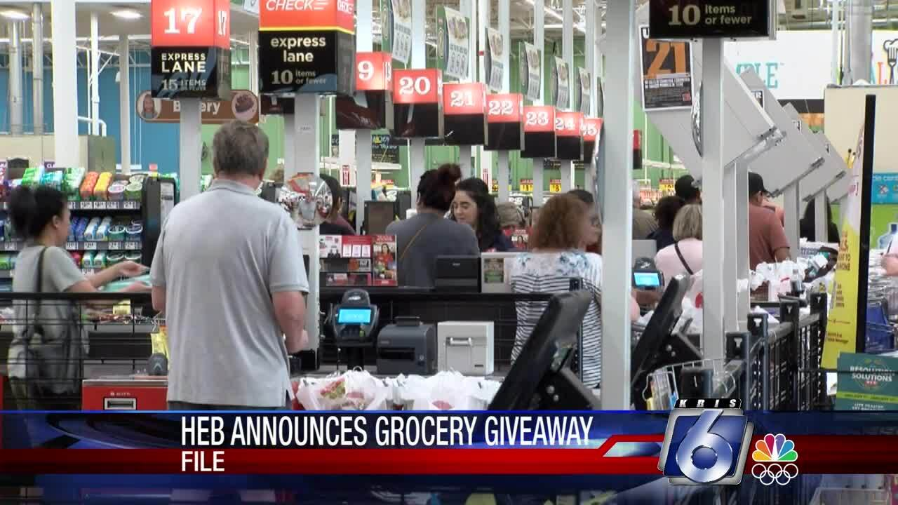 H-E-B will be giving away free groceries for a lifetime in a Super Bowl advertising promotion