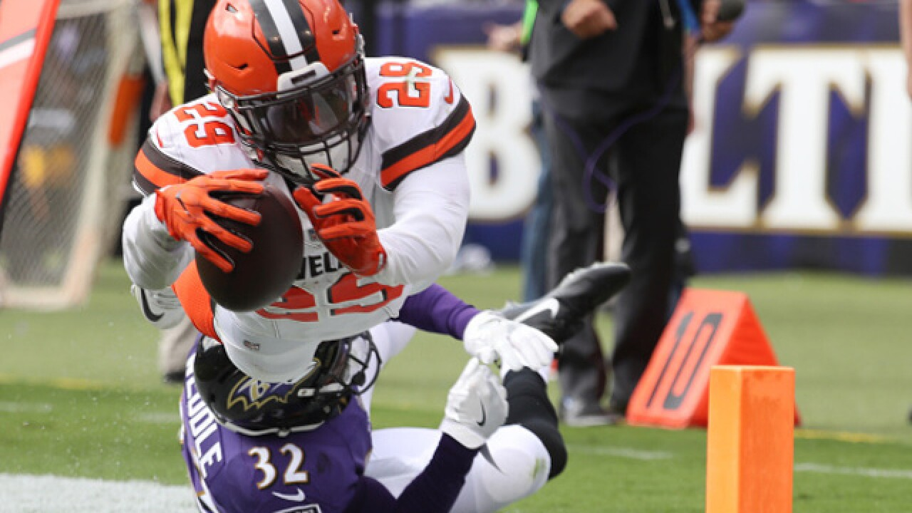 Back on track: RB Duke Johnson re-emerges for Browns in loss