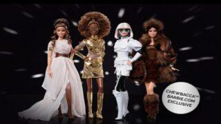 Mattel Releases New 'Star Wars' Collector Barbies